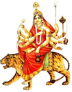Maa Ko Naman Navratri Shayari