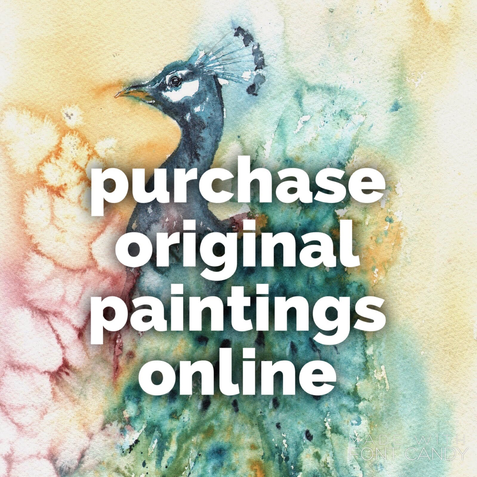 purchase original paintings direct from the studio...
