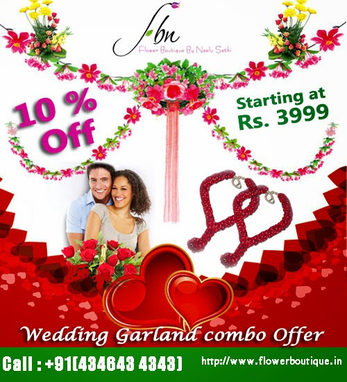 Wedding Garlands Delhi
