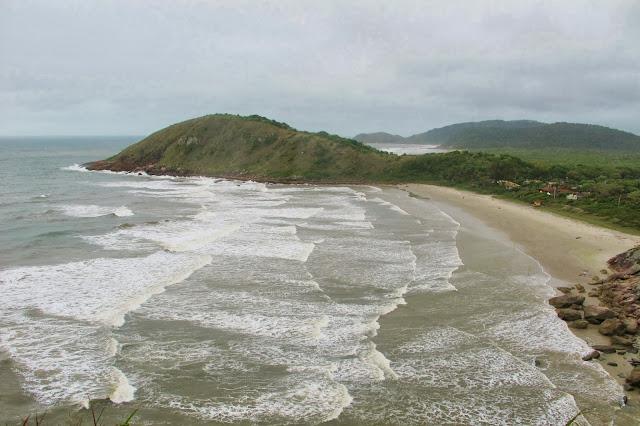 Mirante do Farol na Ilha do Mel no Paraná.