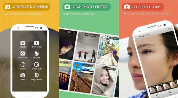 Cara Menggunakan Aplikasi Camera 360 Ultimate