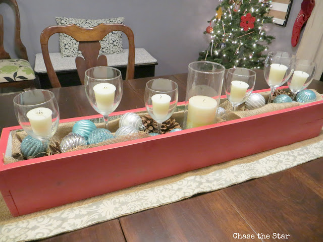Christmas, holiday, decor, simple, blogger house, dining, centerpiece