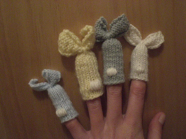 Anna Knits Etc Knitting Etc Knit Finger Puppets