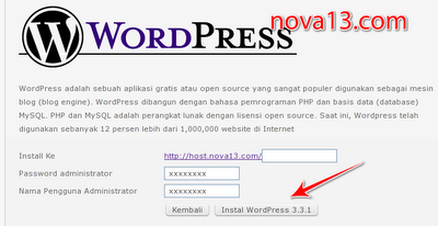 install cms wordpress
