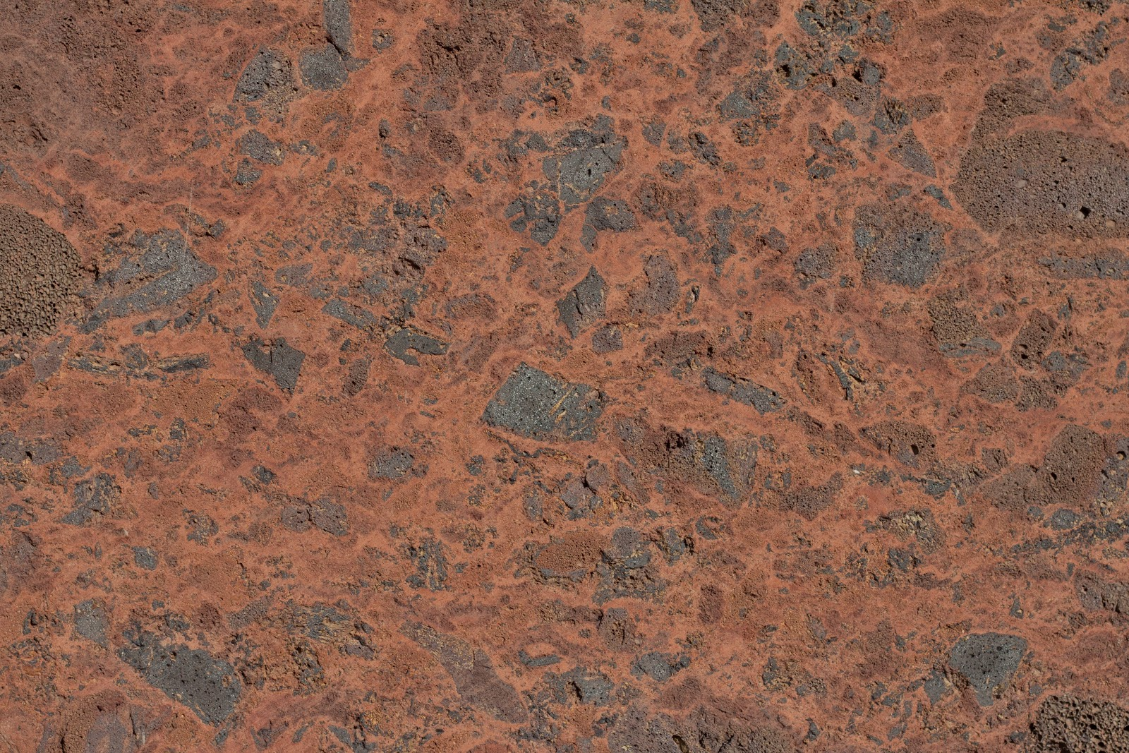 Red stone wall texture
