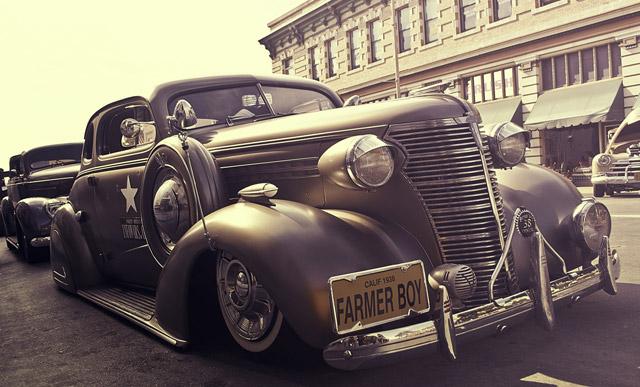 Automóvil clásico 1938