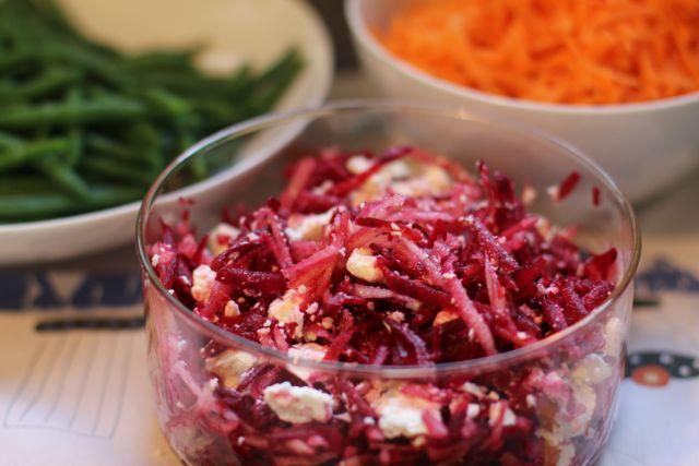 recept rauwe rode bieten salade