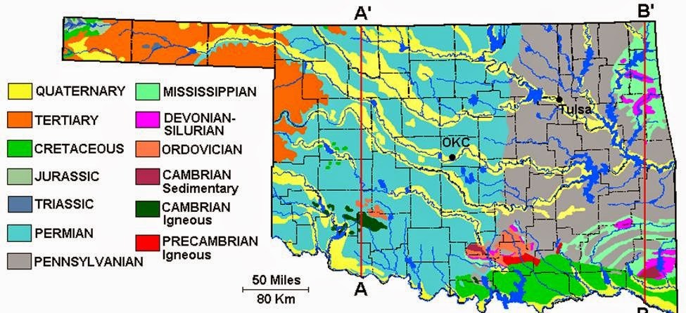 Csms geology post roadtrip oklahoma central plains and panhandle interrupting this logical sequence of rocks are two interesting mountain regionsthe arbuckle mountains south of oklahoma city and the wichita mountains publicscrutiny Choice Image