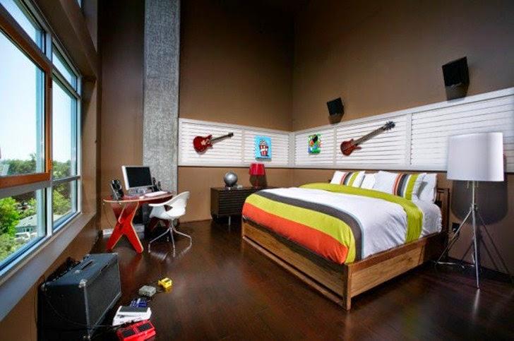 Desain Kamar Tidur Anak dengan Konsep Modern Minimalis