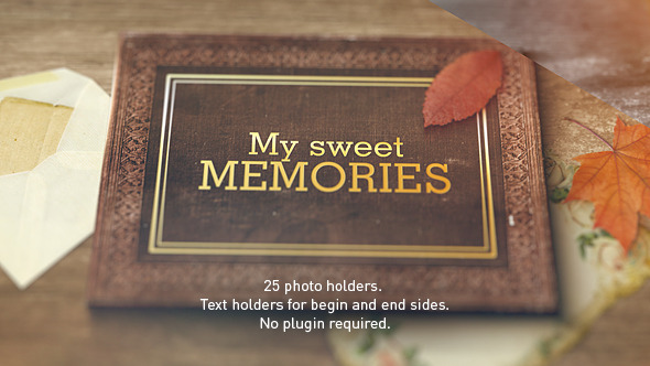 VideoHive Old Memories Album Gallery