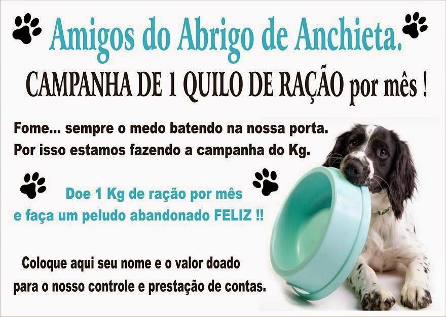 Campanha de Ração do Abrigo de Anchieta - Rio