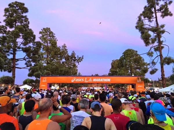 2015 LA Marathon Start Line