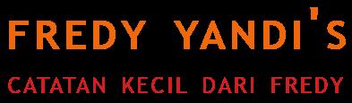 Fredy Yandi's Blog