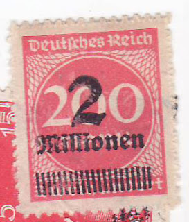 Possibly Weimar republic stamps no?