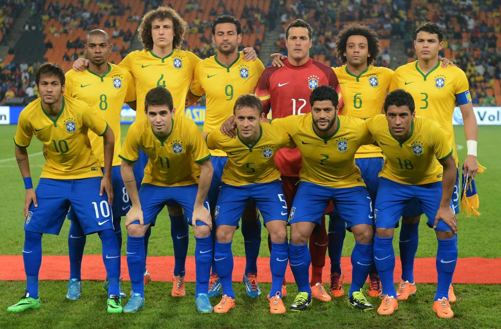 Tim Nasional Sepak Bola Brasil Mewakili Negara Brasil Dalam Kejuaraan Sepak Bola Internasional Dan Merupakan Tim Tersukses Dalam Sejarah