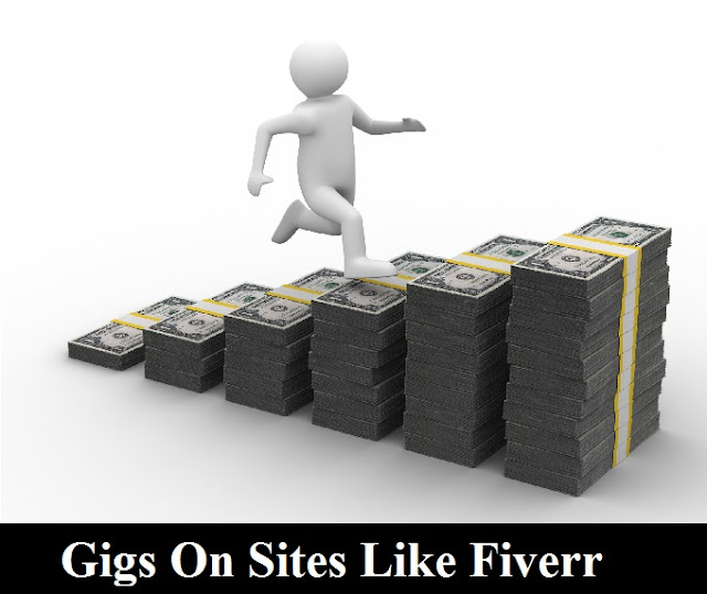 Gigs on sites like fiverr
