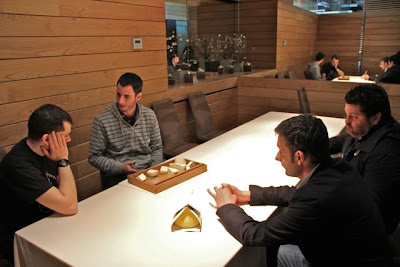 Restaurante Alborada presenación de quesos artesanos. Blog Esteban Capdevila