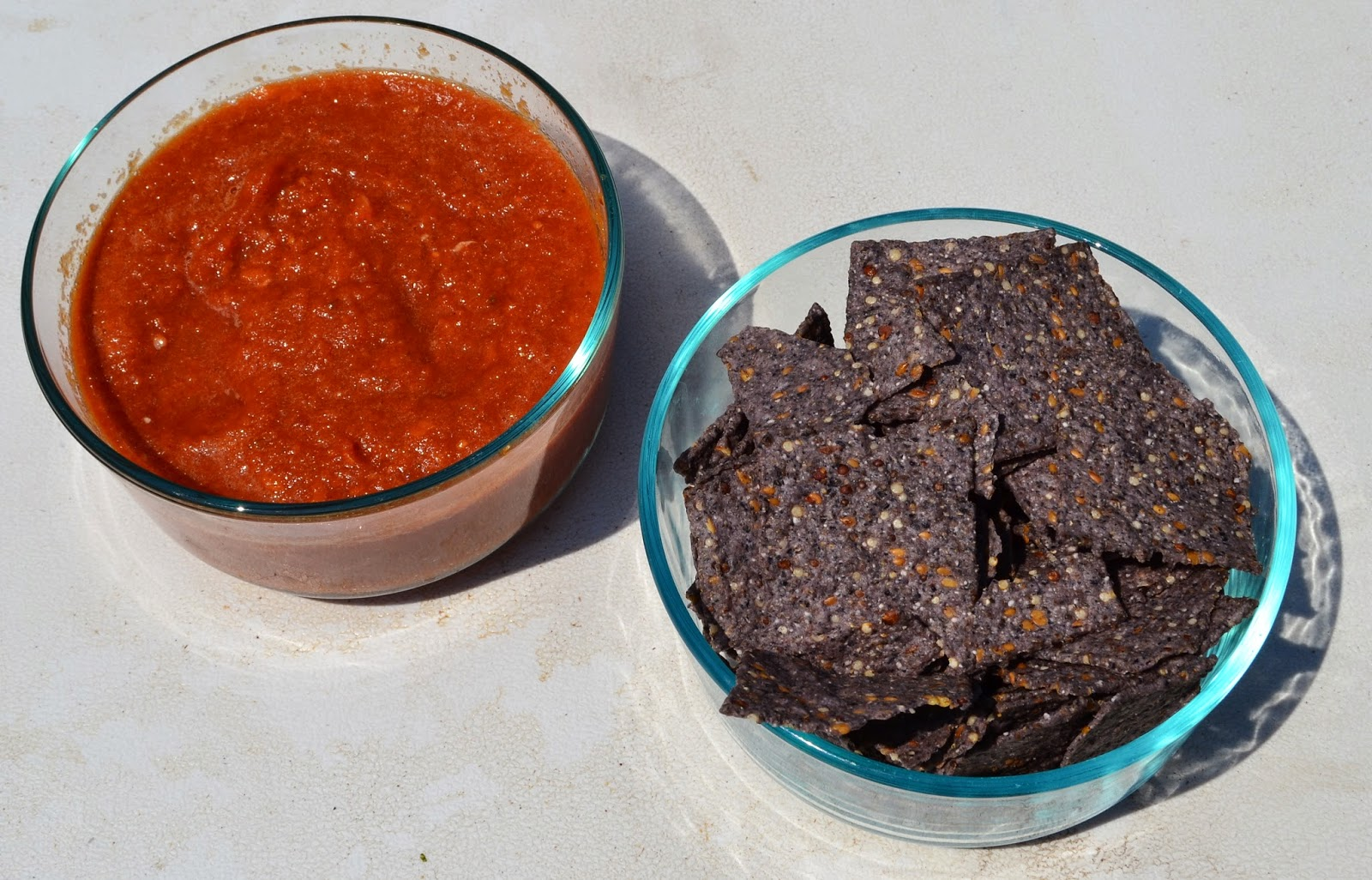 homemade spicy salsa
