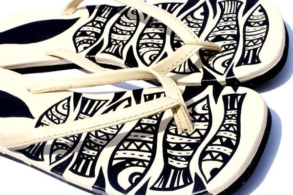 Jayesh Sivan - Illustrations: New Collection - Funk Flip Flops