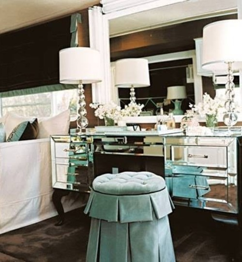 1940s hollywood glamour style bedrooms home decorating