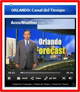 El Tiempo en Orlando