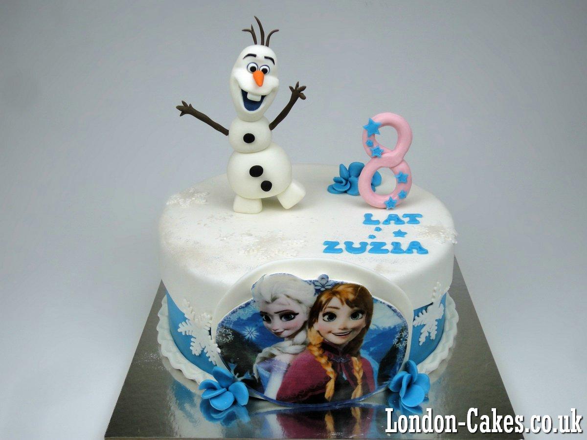 Frozen Cakes in London: Frozen Birthday Cakes in London