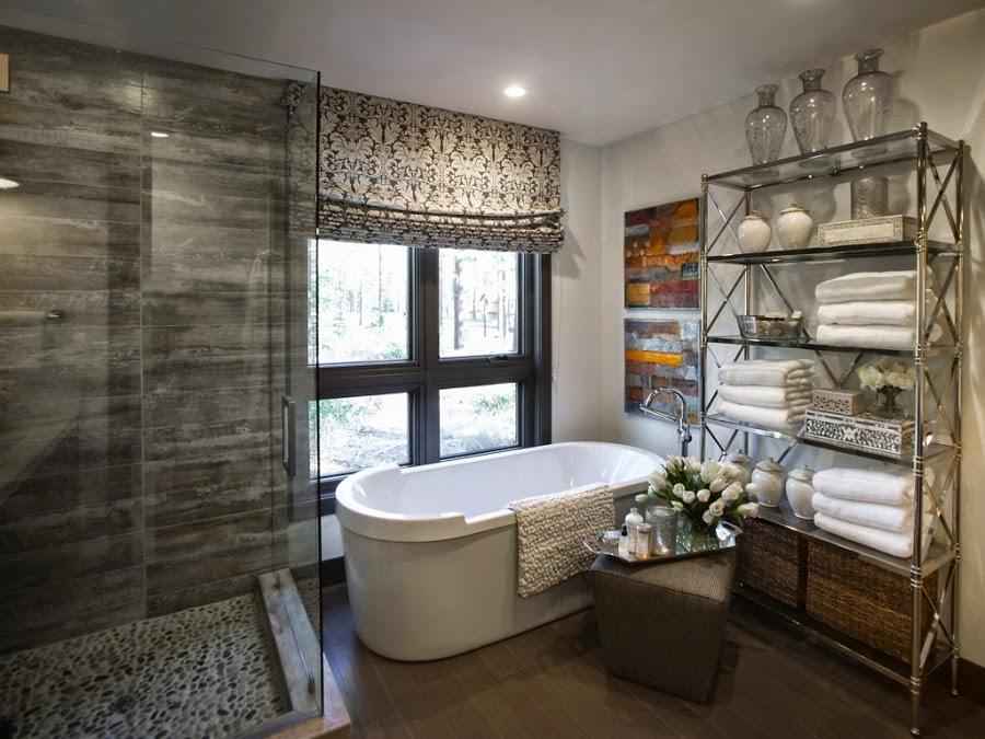 dom, wnętrza, wystrój wnętrz, dom drewniany, duże okna, styl klasyczny, łazienka