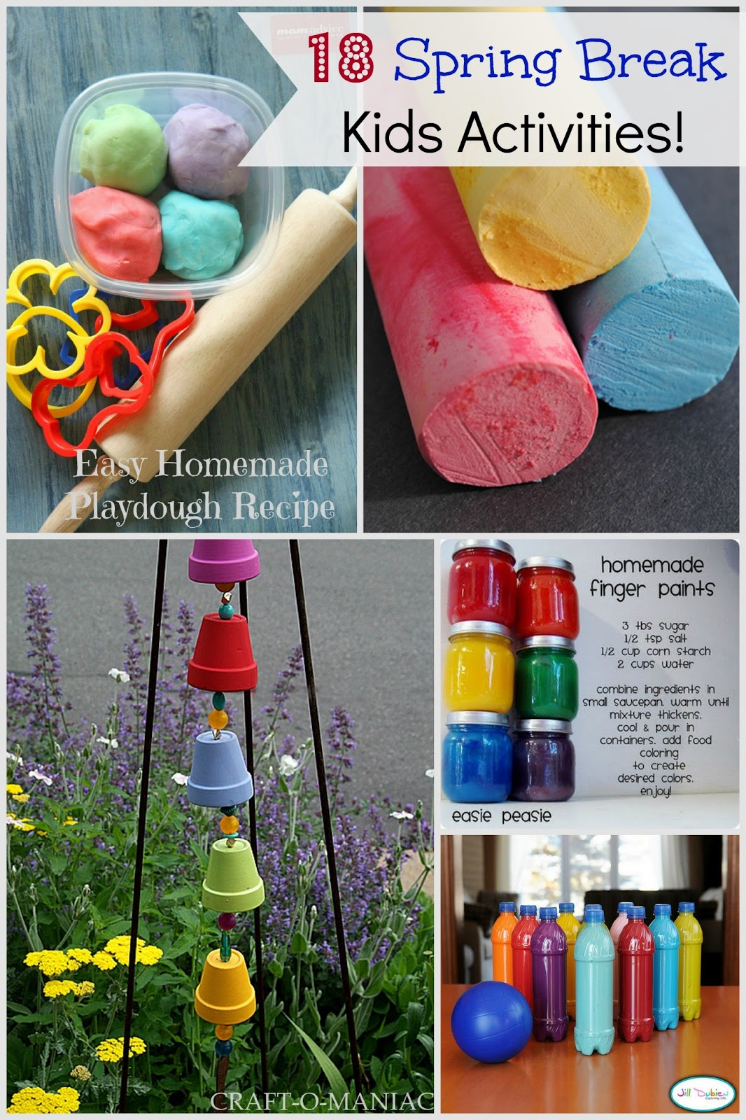 18 spring break kids activities - craft-o-maniac