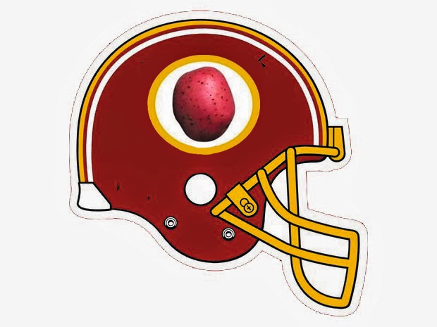 Redskins Helmet 2014 An Apocalypse Observed...