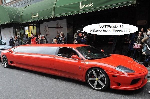 Ferrari limuzina de 6 metri