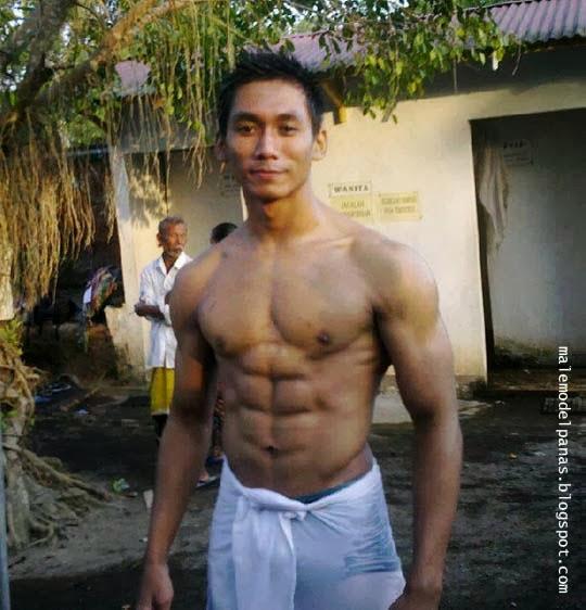 six pack indonesian man bodybuilder dedy sanjaya
