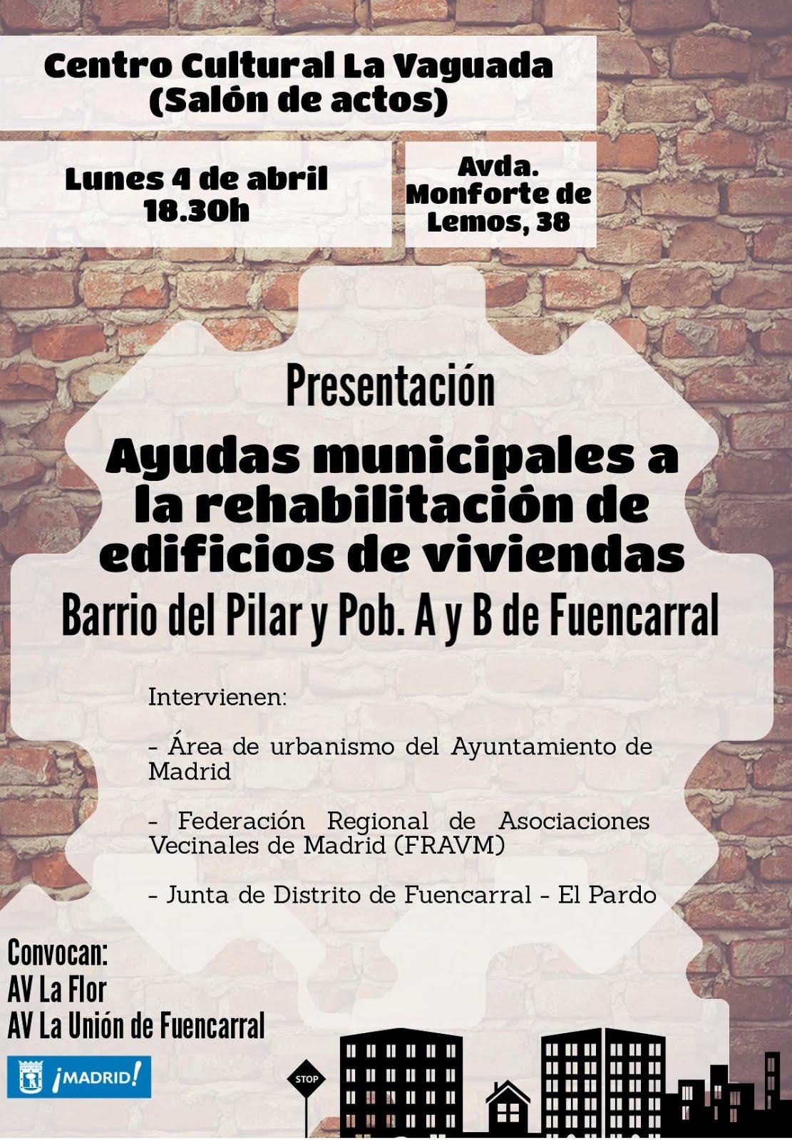 4 Abril Rehabilitación en Fuencarral