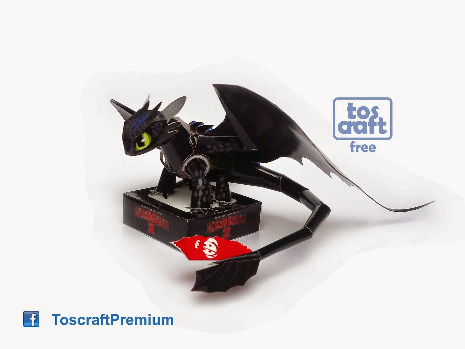 Tos craft toothless how to train your dragon 2 papercraft last year i have promised to make toothless from how to train your dragon movies so this is a very long work until im confidence enough to design this altavistaventures Choice Image