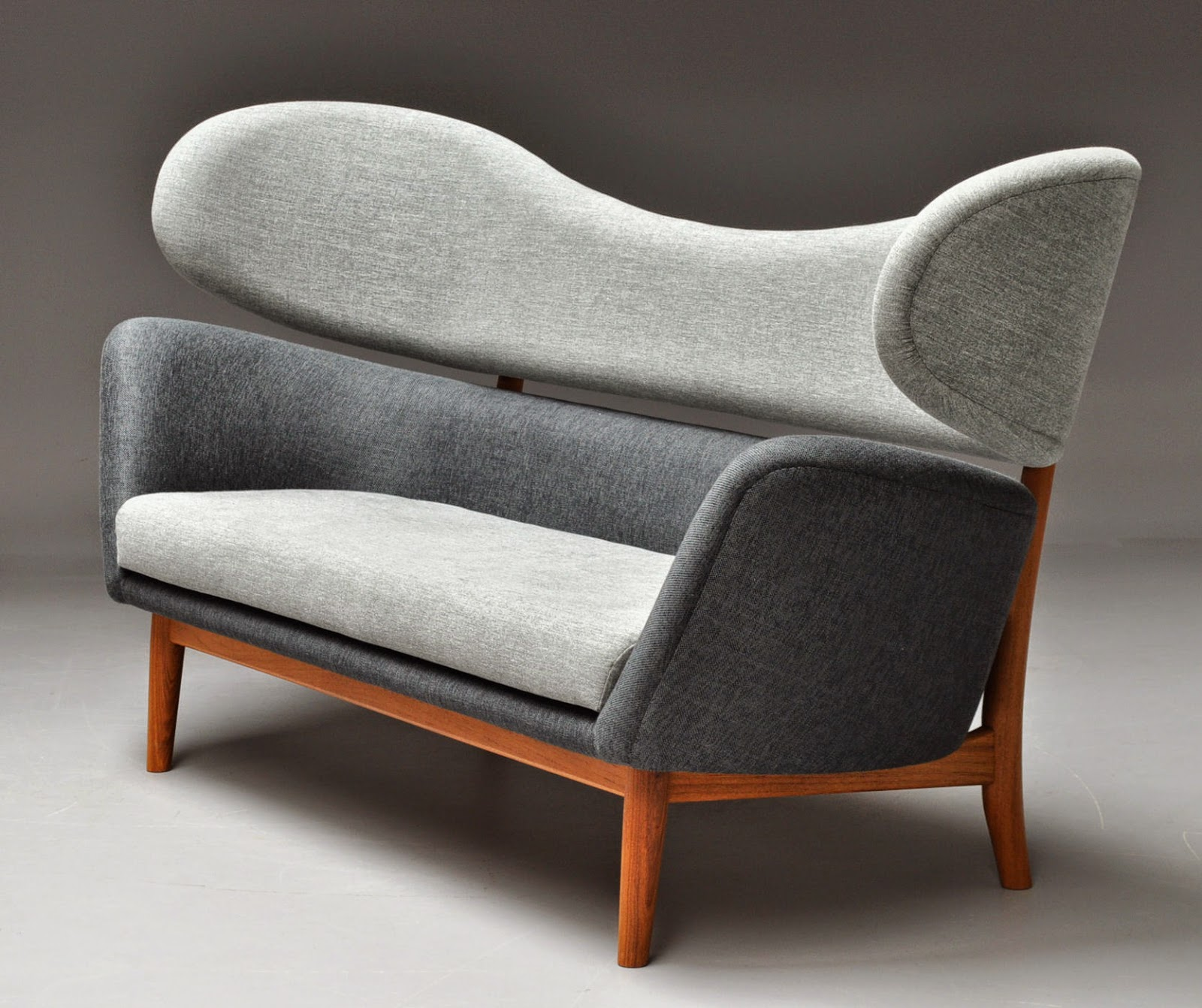 Baker Sofa: Sharp Lines Old Times: For The Love Of Curves