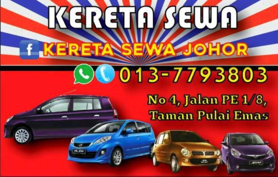 KERETA SEWA JOHOR (0137793803)