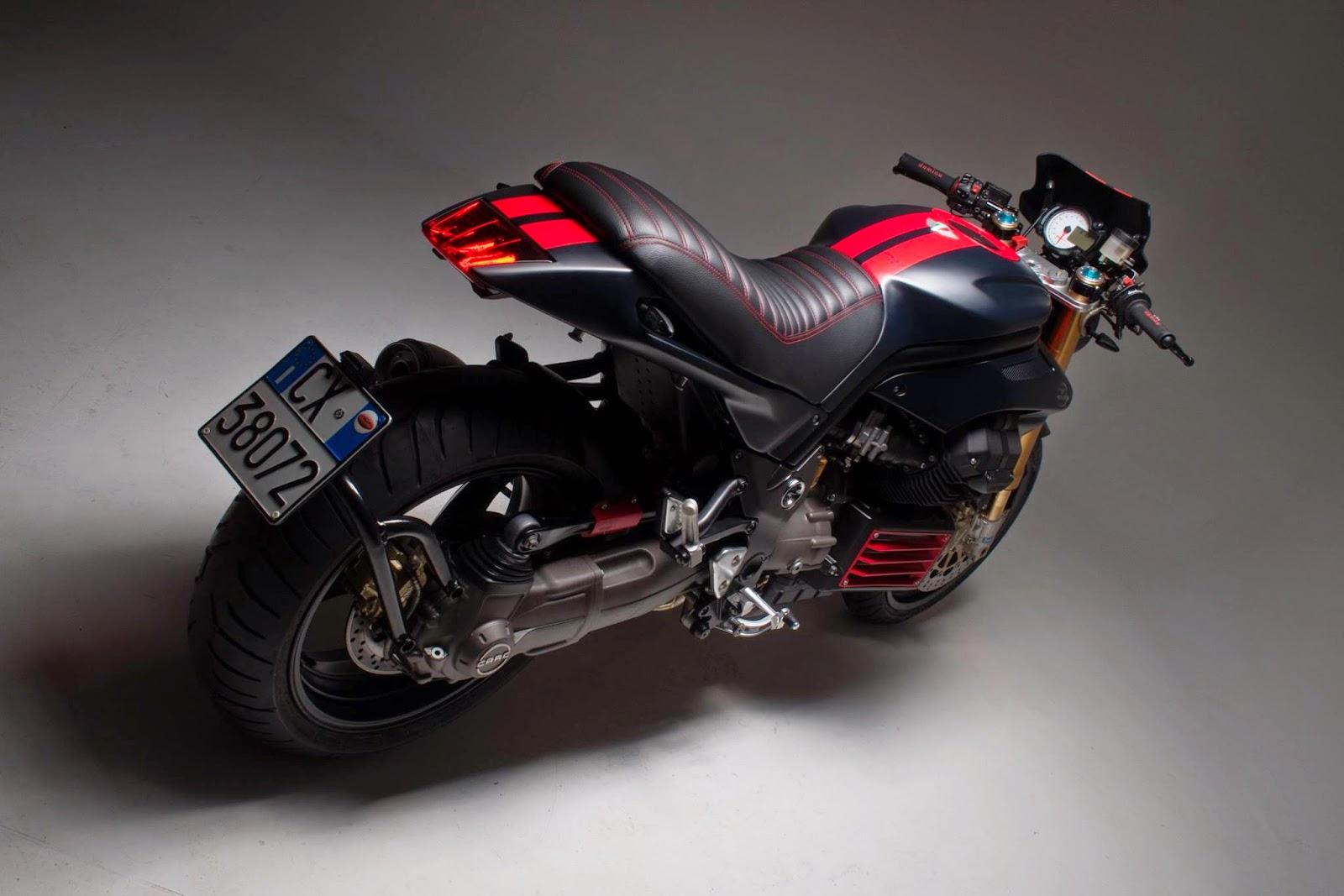 Griso Mustang Rocketgarage Cafe Racer Magazine