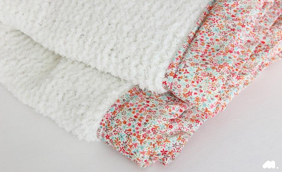 jolie couverture bébé Minigougue: DIY Tricot, une couverture pour bébé ! jolie couverture bébé