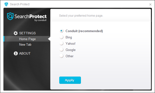 search protect by conduit