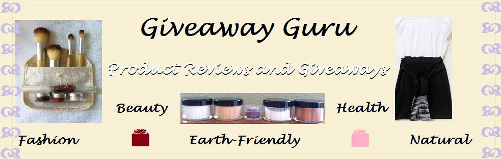 Product Reviews, Giveaways, and Healthy Living