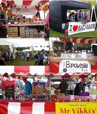 Foodies stalls