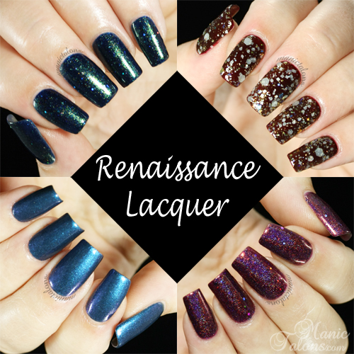 Renaissance Custom Lacquers Swatches