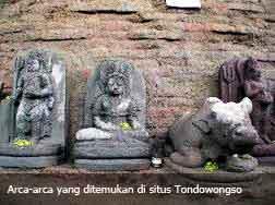 Penemuan Arca Kuno Kerajaan Kediri Di Situs Tondowongso