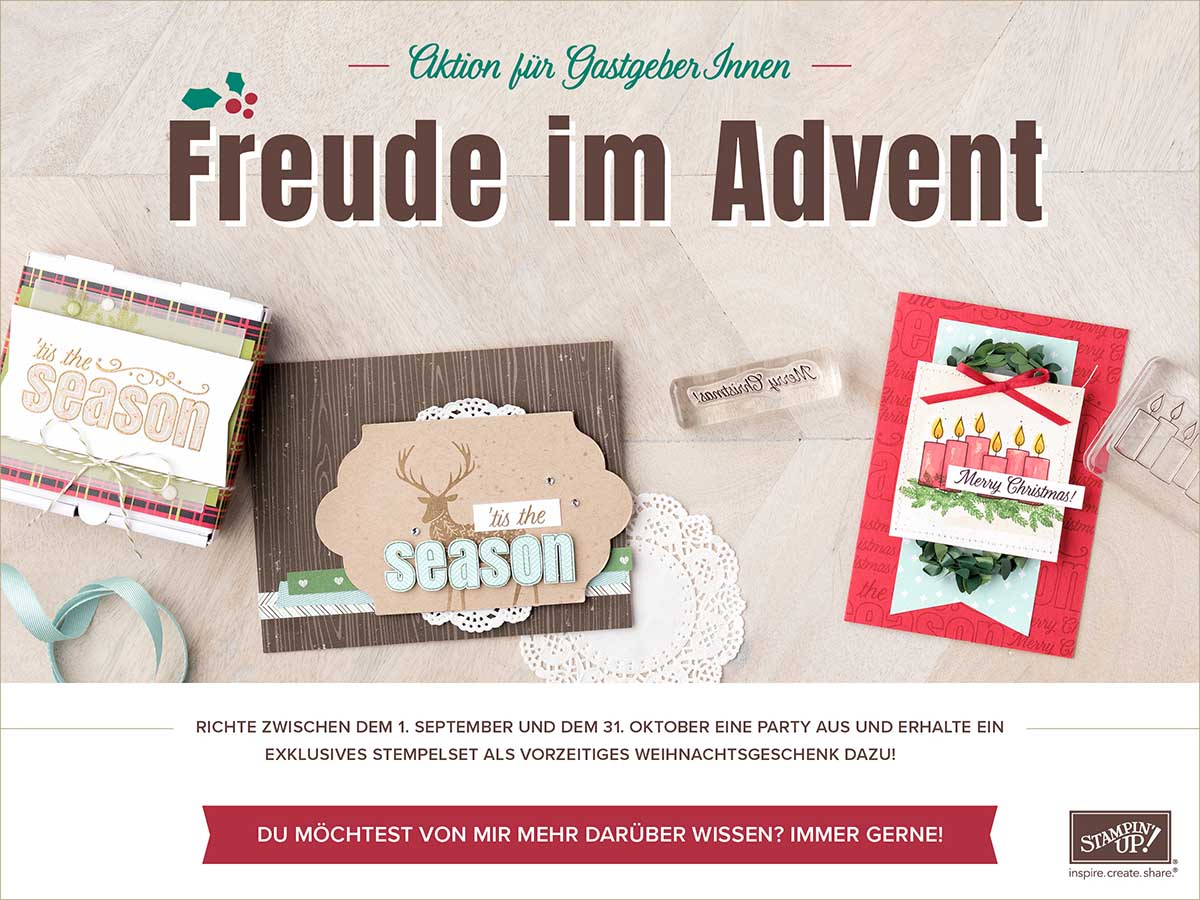 "Aktion ""Freude im Advent"""