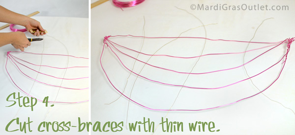 Deco Mesh, Watermelon, Wreath, Tutorial, DIY, Summer, Spring, Wreath, How to