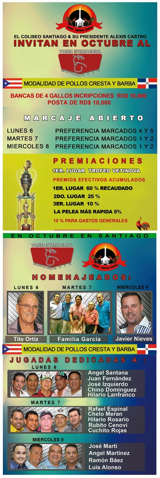 TORNEO INTERNACIONAL SANTIAGO 2014