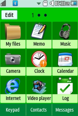 Sports Boston Celtics Samsung Corby 2 Theme Menu