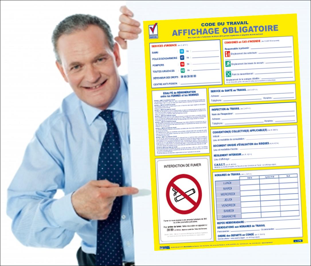 Quelles sont les obligations d 39 affichages dans une entreprise entreprise sans fautes - Tout a l egout obligatoire ...