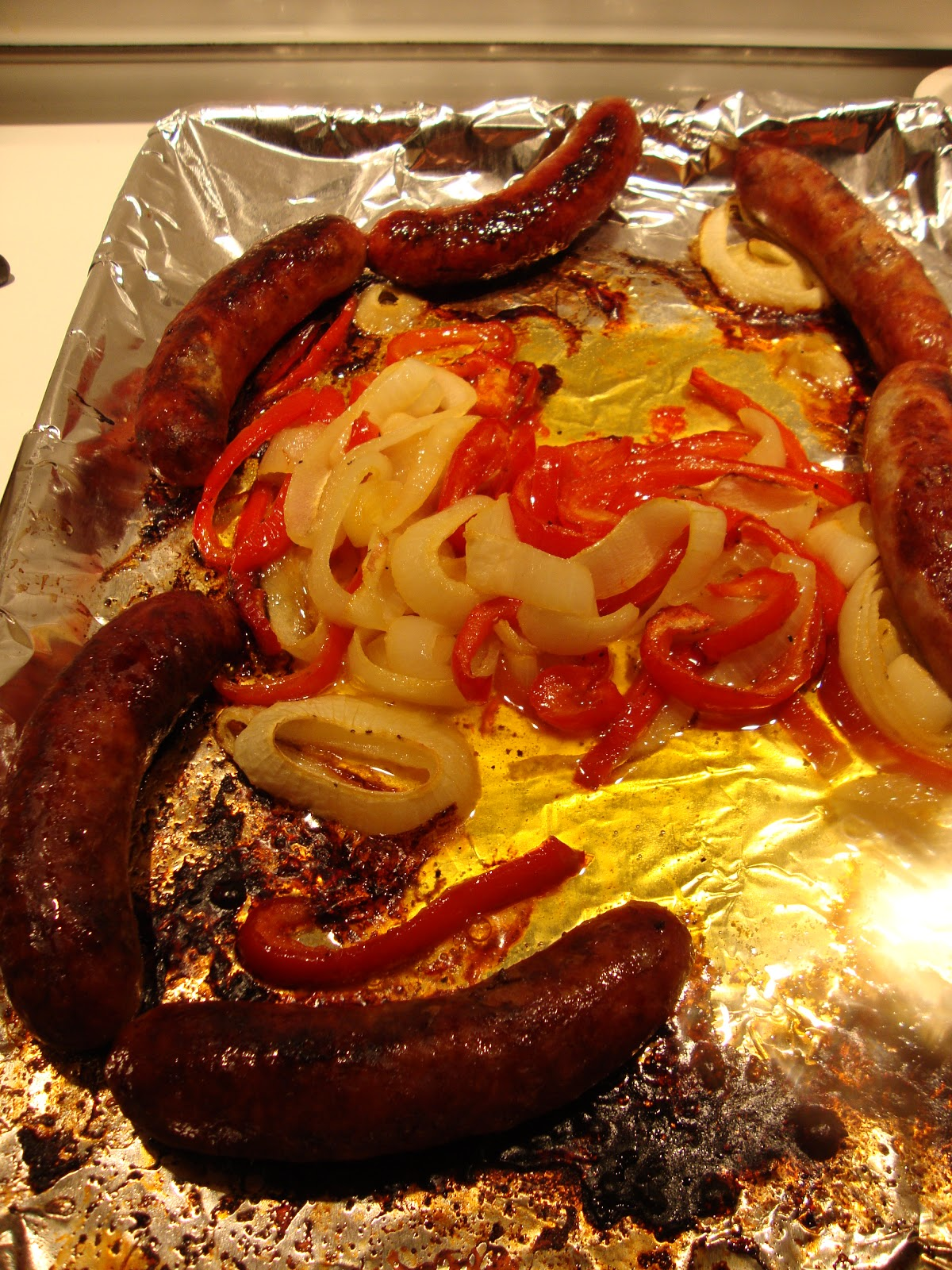 how to cook sweet italian sausage in oven