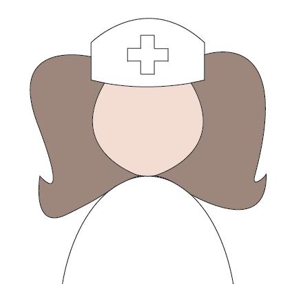 nurse hat clip art doctor hat template nurse hat template clip art ...