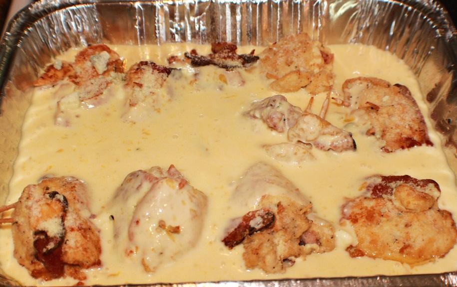 how to cook chicken cordon bleu sauce